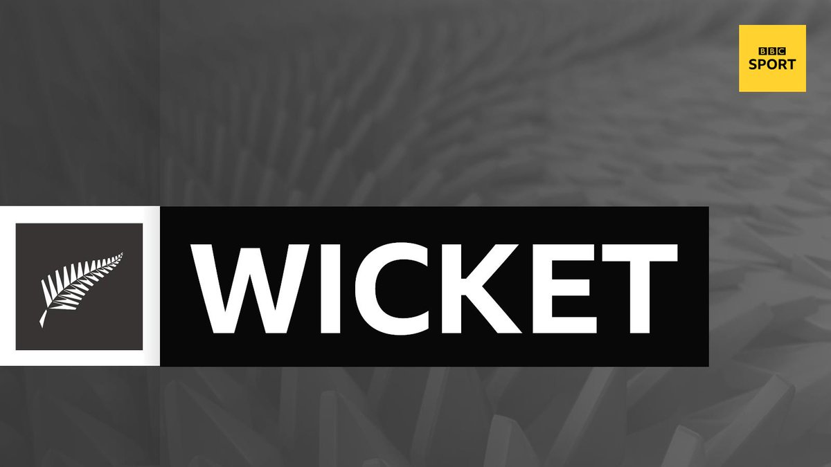 WICKET!Lockie Ferguson is into the attack and strikes straight away, removing Imam-Ul-Haq for 19 with his second ball.Pakistan 44-2 in the 11th over.📻 Listen to @bbctms on @5liveSport 📱http://bbc.in/2YgHgiO #CWC19 #NZvPAK #bbccricket