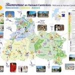 Image for the Tweet beginning: Retrouvez la carte des Destinations