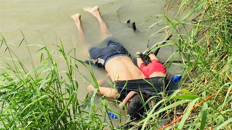 Photo of drowned Salvadoran father and daughter highlights harrowing tales of migrants' journey to the US https://aje.io/9lq4q