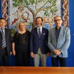 Image for the Tweet beginning: Cefalù, ambasciatore tedesco visita il