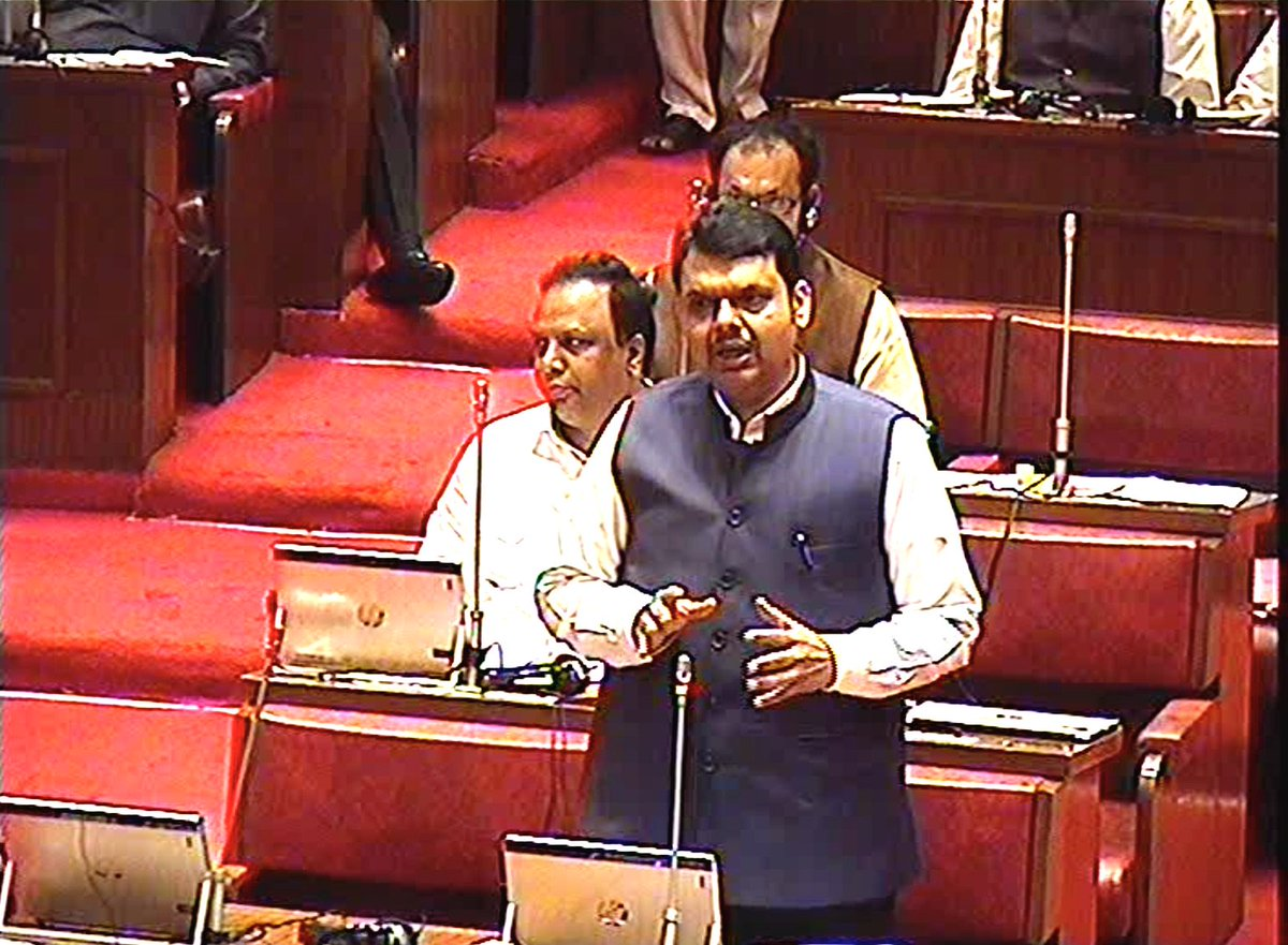 There are some legal issues about housing on forest lands as 1 case is before Hon Supreme Court. Survey has been completed for land acquired under SRA. Government is fully committed & working hard for affordable housing:CM @Dev_Fadnavis during CouncilQH https://youtu.be/weQFYED6ArU