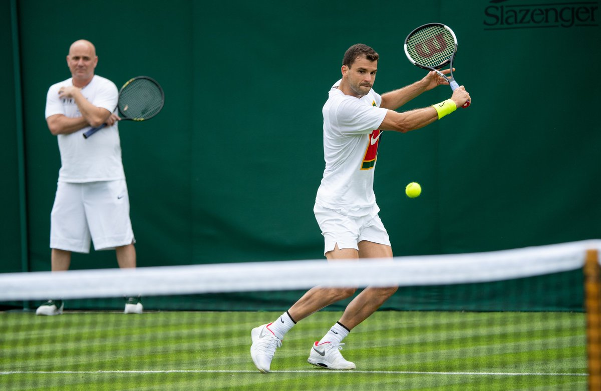 The Championships courts: open for practice #Wimbledon