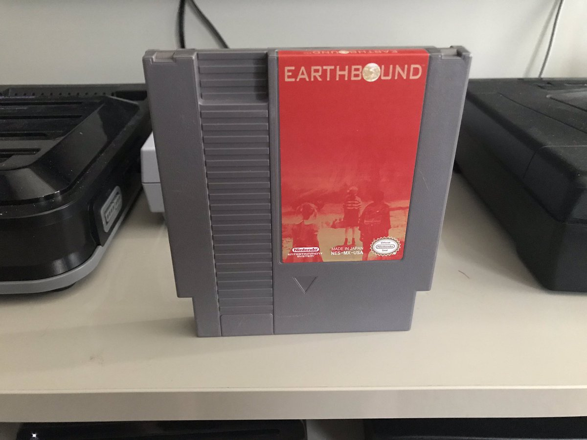 For #wedNESday I present to you Earthbound Zero  Years