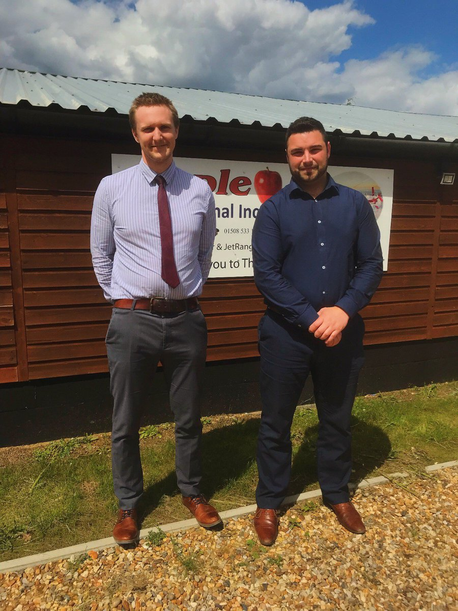 Meet a couple of the faces behind our emails. Jonathan Bloomfield (Left) and Lewis Francis (Right), two of our Sales Executives at our UK facility. Send Jonathan and Lewis your RFQ's via parts@appleheli.com or +44 1508 533 180. #HelicopterParts #BellHelicopters