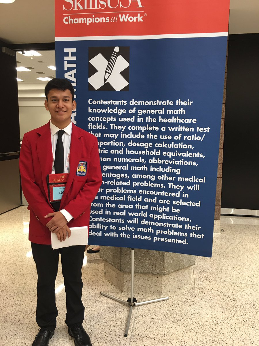 Go ACC - entering the Medical Math competition! Everyone send good karma to our students! Go Kevin! <a target='_blank' href='http://search.twitter.com/search?q=SkillsUSA'><a target='_blank' href='https://twitter.com/hashtag/SkillsUSA?src=hash'>#SkillsUSA</a></a> <a target='_blank' href='http://twitter.com/APSCareerCenter'>@APSCareerCenter</a> <a target='_blank' href='http://twitter.com/APS_CTAE'>@APS_CTAE</a> <a target='_blank' href='https://t.co/gJoax9ddFo'>https://t.co/gJoax9ddFo</a>