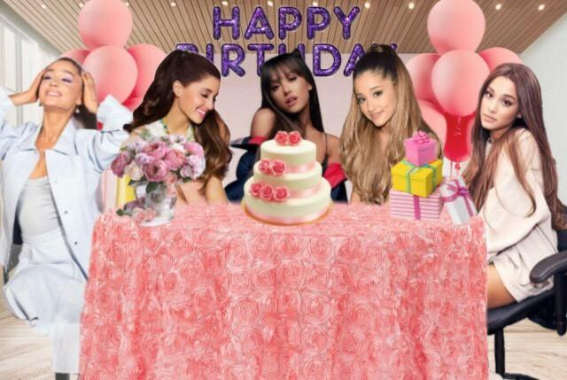 Happy birthday Ariana grande  #thankunext #yoursturly #myeverything #moonlightbae  #sweetenerworldtour #sweetenertour #thankunexttour #7rings #ag4 #ag5 #ag6 #tun #catvalentine #breakfree #onelasttime #arianator #arianators #arianaarmy  #arianarares #arianagranderarespic.twitter.com/iw66ucGnBS