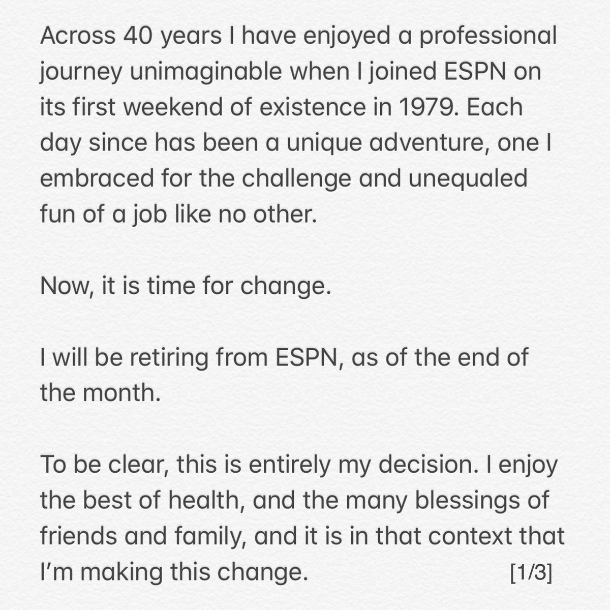 Too many folks to thank individually, right now, but know that I have you all in my mind and my heart. Some news to share: