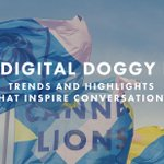 Image for the Tweet beginning: Check out @Cannes_Lions' Digital Doggy