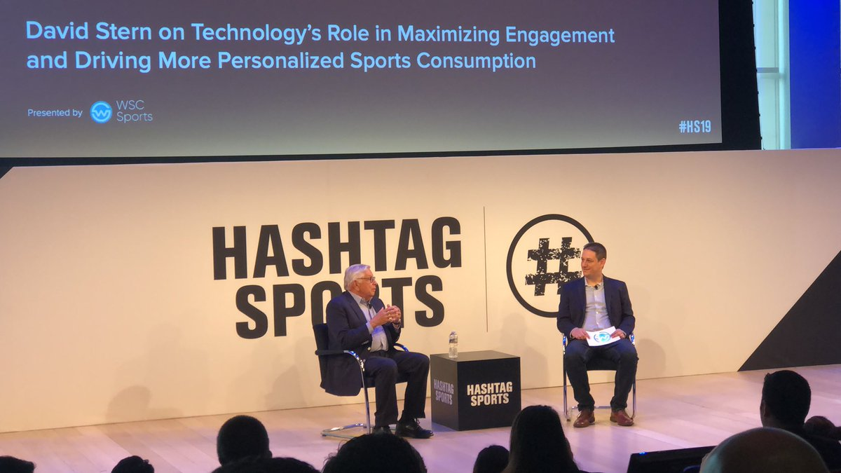 Great morning at Hashtag Sports #HS19 @nyutischsports https://t.co/9FbTh0e0bQ