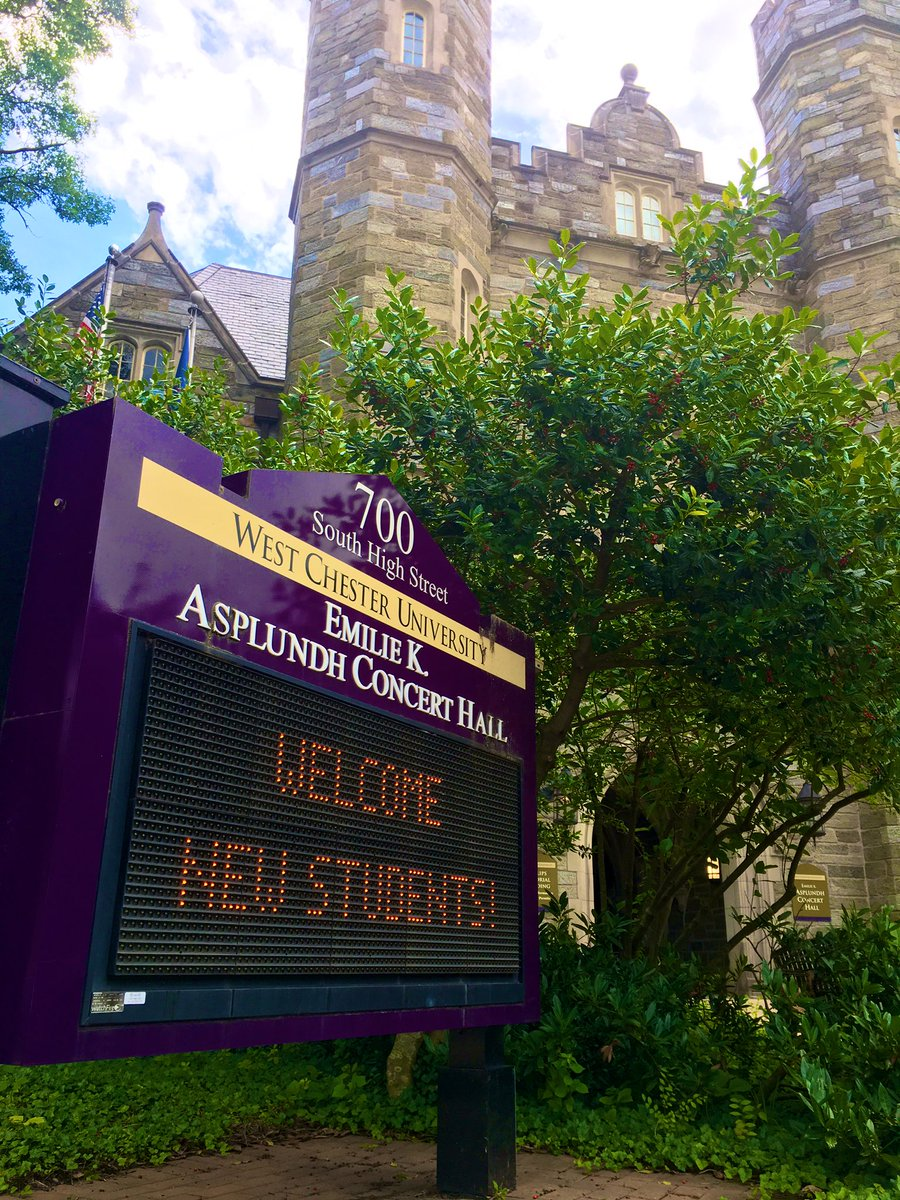 The newest Rams are on campus and we couldn't be more excited! 🐏💜#WelcomeRams #New2WCU #WCUcommitted #RamsUP