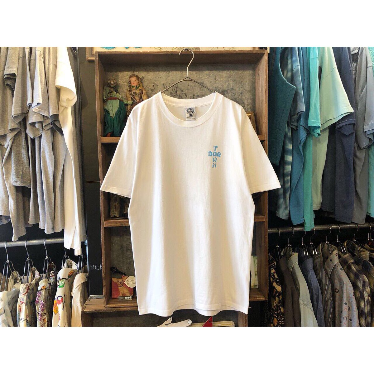 ". NER 2019.06.26 . . ""old DOG TOWN T-shirt . . size:M . ¥12800+tax . . made in VENICE USA . . #下北沢 #古着屋 #古着 #photography #filmcamera #digitalcamera #dogtown #ドッグタウン #skateboardpic.twitter.com/1jWxsl4WU5"