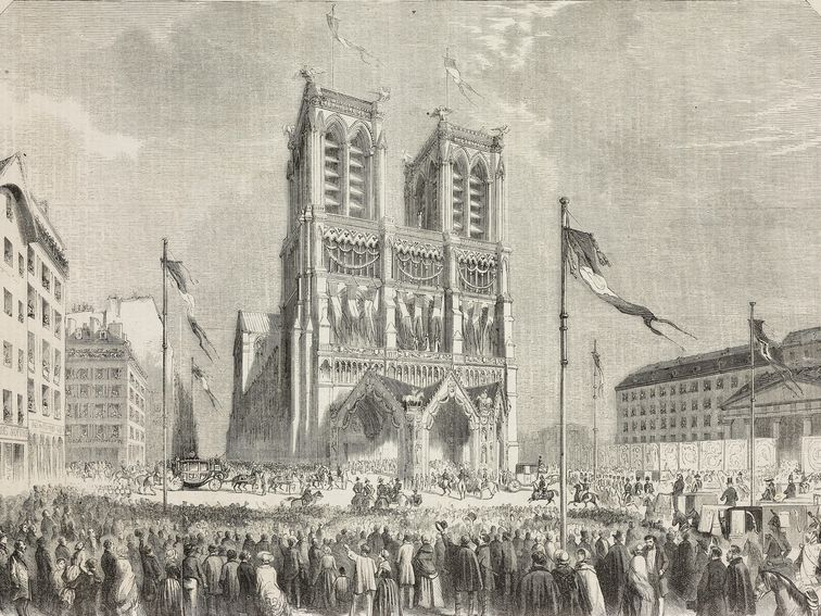 A visual history of Notre-Dame de Paris https://t.co/cGpRW708dh https://t.co/XScZPoopX4