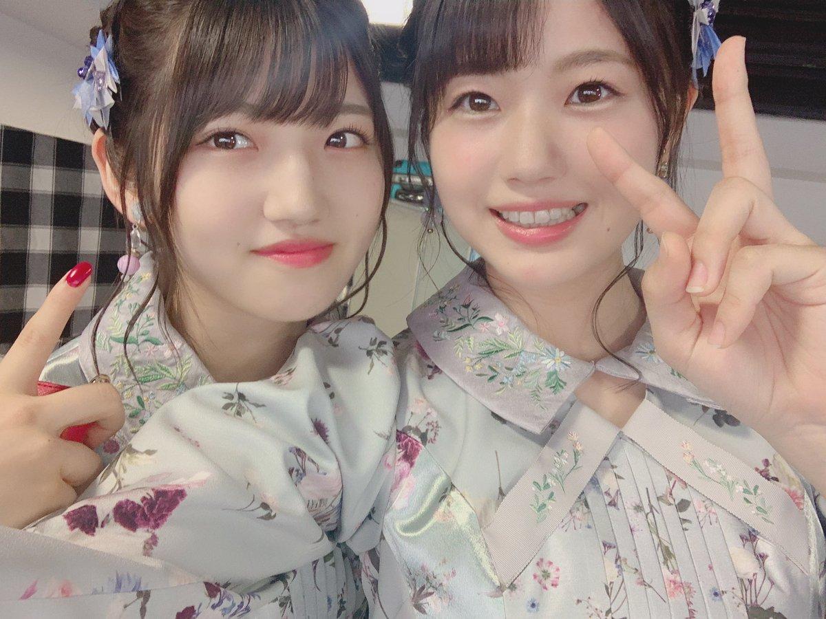 #テレ東音楽祭豪華客船での収録 ⚓そしてスタジオでの『 365日の紙飛行機 』ありがとうございました 🙏🏻髪型ゆいりーさんとお揃いでした 😎🌹船での収録ができるということでいつかSTU48号からも!!宜しくお願いします!#村山彩希 さん #向井地美音 さん#岡田奈々 さん#AKB48 #STU48