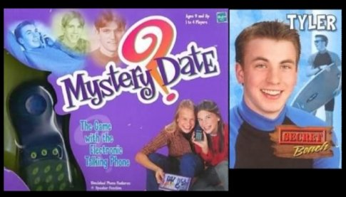 In pop culture news: Before he was #CaptainAmerica , Chris Evans was a model for a character in the Milton Bradley board game #MysteryDate ! What a come up! Point & laugh below! #geeksandgamers<br>http://pic.twitter.com/Zc5cyih8dS