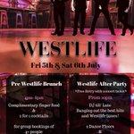 Image for the Tweet beginning: Attend the BIGGEST Westlife Pre-Brunch