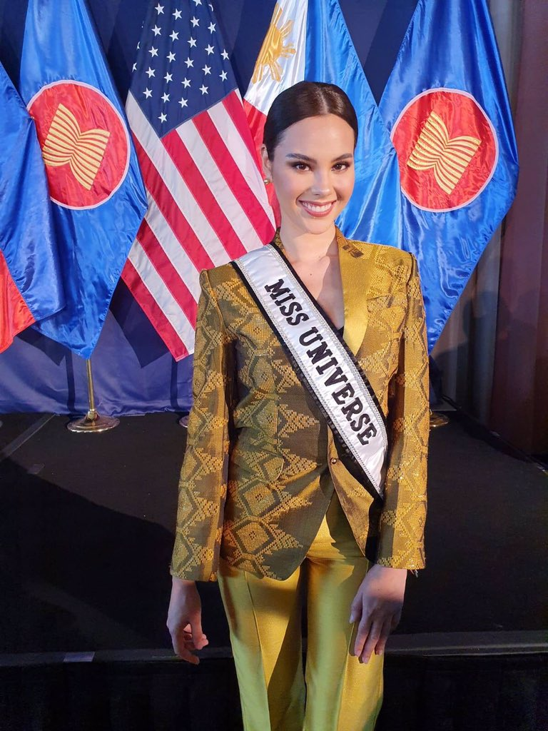 Catriona Gray at The 121st Anniversary of the Proclamation Of Philippines Independence in Washington, DC.  <br>http://pic.twitter.com/XznP5xQC2x