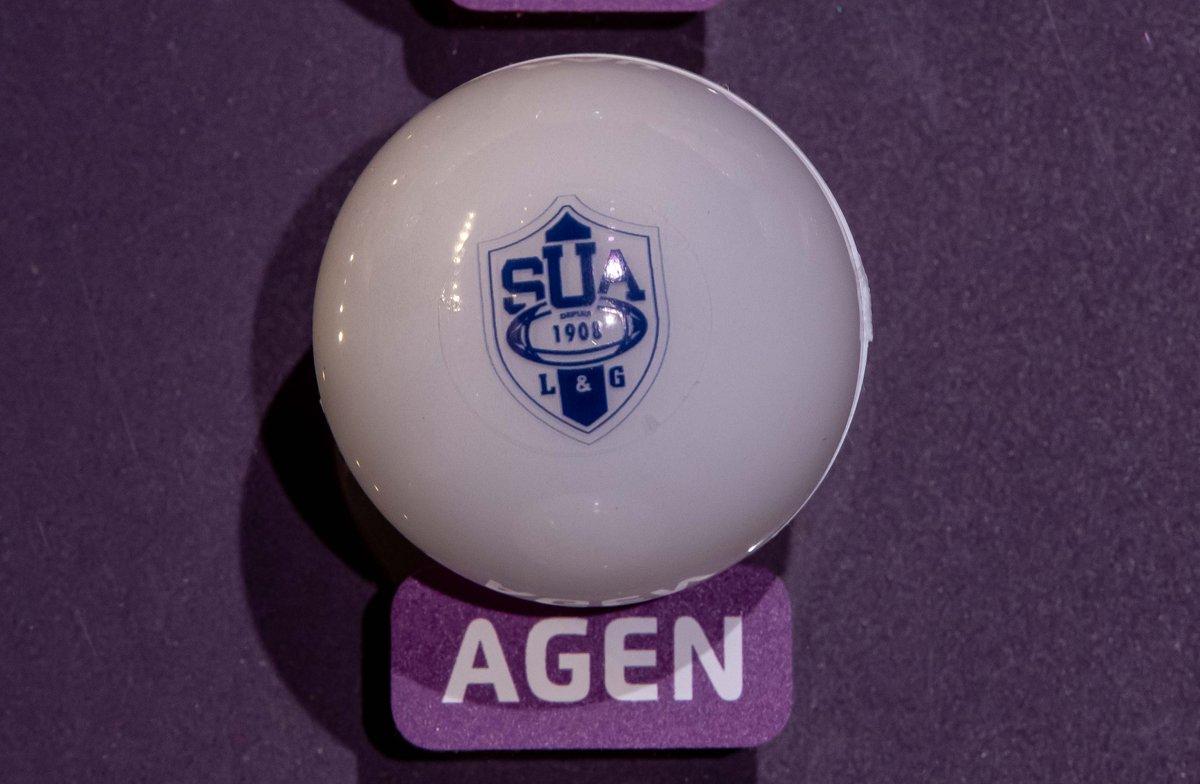 Quelles équipes dans la poule d'@agen_rugby ?  🎥Pour le savoir, suivez le direct ici à 14h : https://www.epcrugby.com/fr/  #ChallengeCupDraw