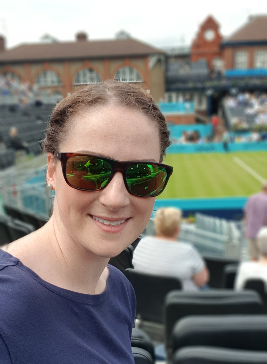 Ready to enjoy a day of great live sport at @QueensTennis  Fingers crossed for kind weather!! #FeverTreeChampionships <br>http://pic.twitter.com/GGwH5gVNWY