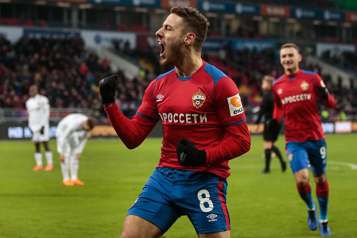 """PFC CSKA Moscow on Twitter: """"#CSKA and @Everton have agreed the transfer of Nikola Vlasic! Croatian midfielder has signed 5-year contract with Red-Blues 🔴🔵… https://t.co/fFtEC3nXGJ"""""""