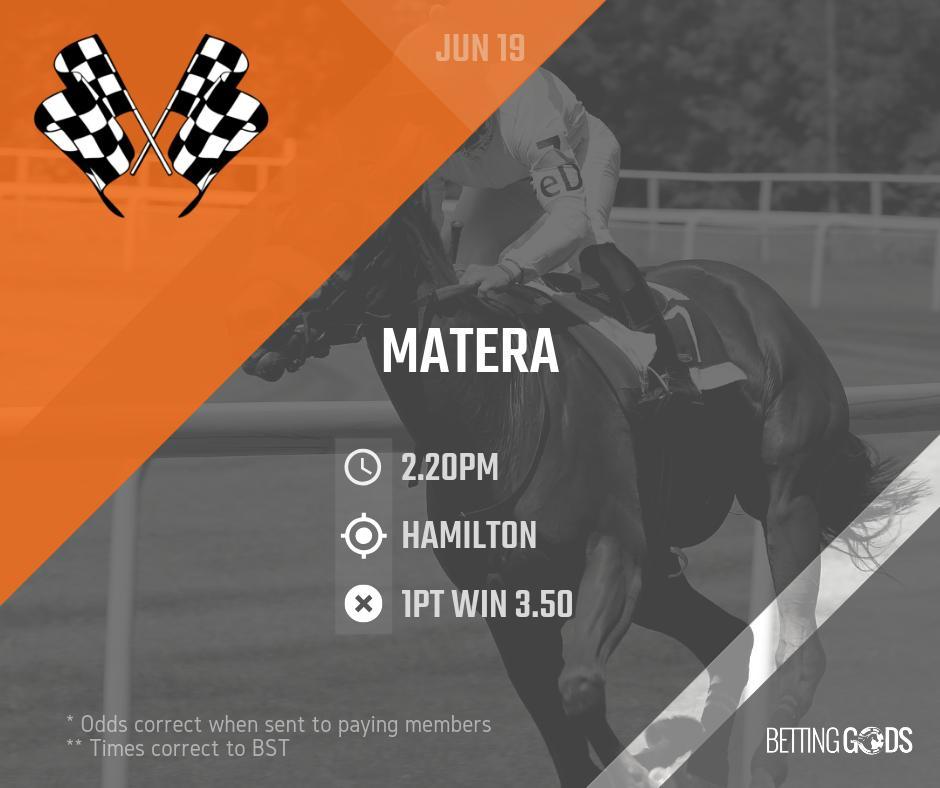 June 19:  14:20 (Race 2) Hamilton- Matera  #hamilton #matera #betting #bettinggods #bettingtips #bettingexpert #bettingadvice #horseracing #racingtips #race