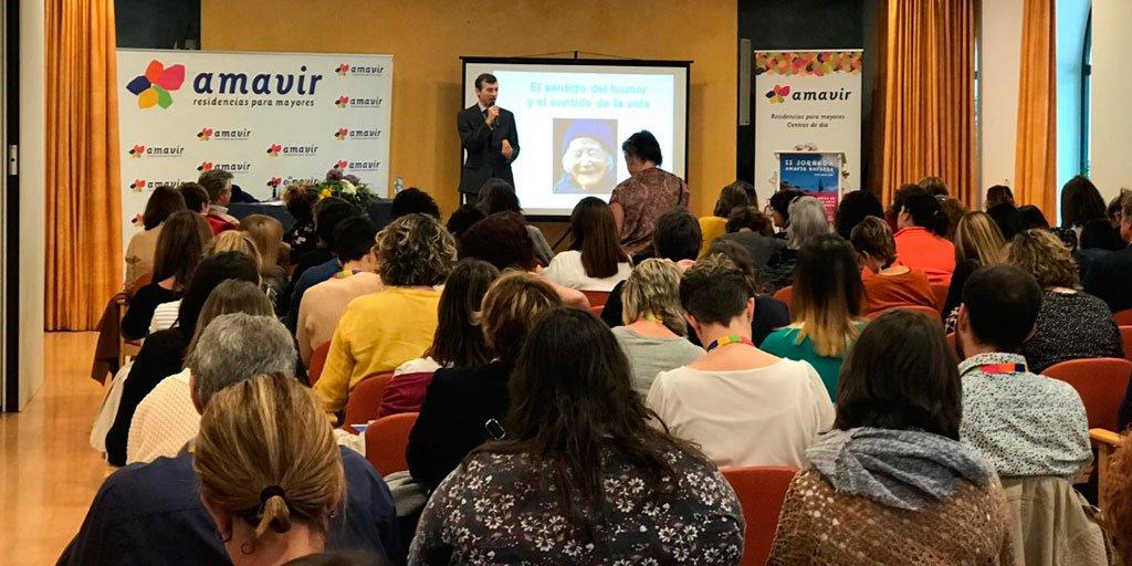 test Twitter Media - El psicólogo clínico Juan Pedro Arbizu y el sociólogo y psicólogo Eduardo Jáuregui @edujauregui1 explicaron estrategias de afrontamiento del sufrimiento durante las II Jornadas @GrupoAmavir Navarra de Trabajo Social. https://t.co/mVGtUVYAmc #AESTEasociados https://t.co/D7RshqGhx0
