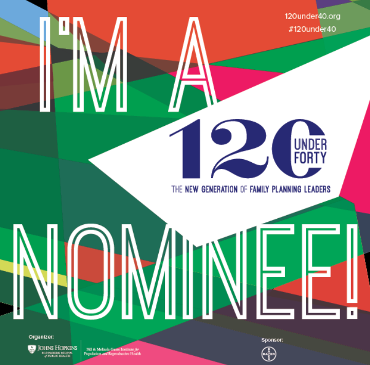 Vote for a young family planning leader at #120under40! I just did. 120under40.org/nominee/mugang…