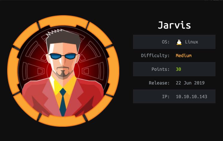 Image result for hackthebox jarvis
