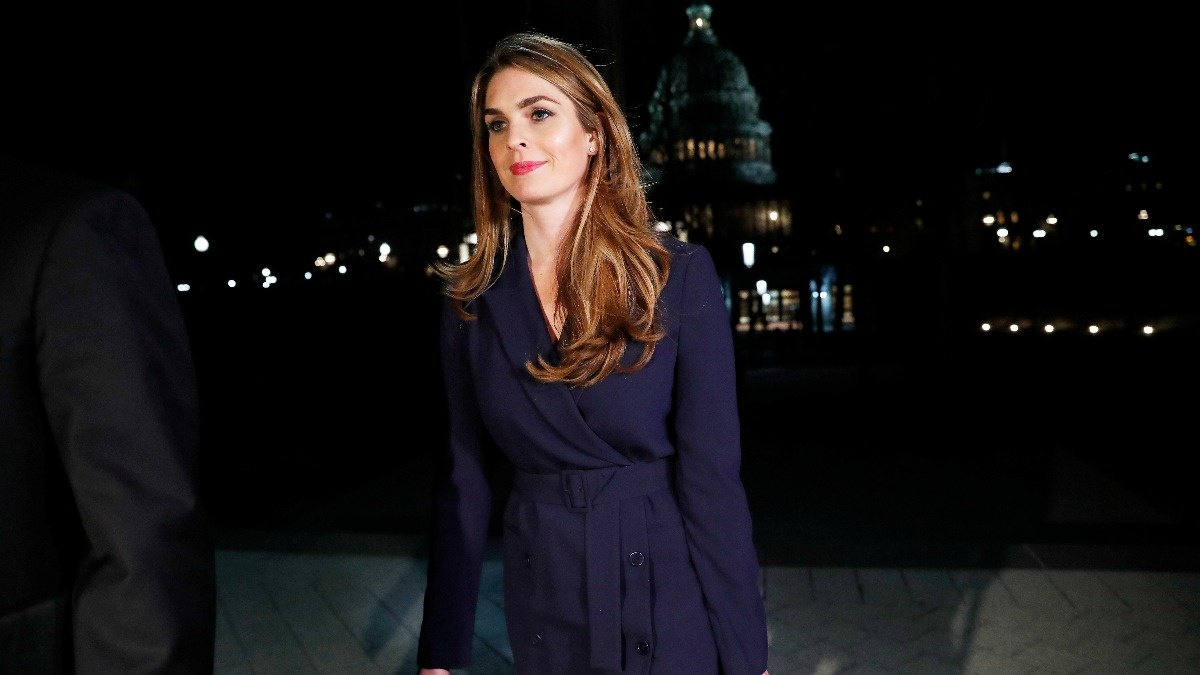 Ex-Trump aide Hicks to testify on Capitol Hill https://reut.rs/2XXNeVJ