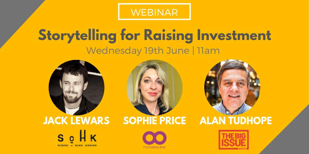Thank you to everybody who joined the webinar 😀  Such an interesting discussion & 3 really interesting speakers... we could have listened to them all day! Thank you @SophEnterprise @HomelessLink , @JackLewars @SoHKCharity & Alan Tudhope @BigIssueInvest  Recording coming soon!