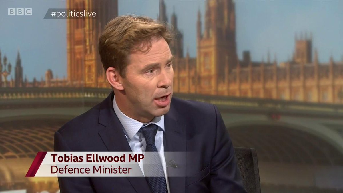 """""""I doubt it"""" Rory-Stewart backer Tobias Ellwood on his candidate backing public Brexit vote: """"Repeating the referendum actually will not allow the country to unite""""  He warns: """"If we don't resolve Brexit - our party will refuse to exist""""   #politicslive https://bbc.in/2XXKGql"""