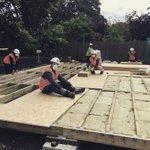 Image for the Tweet beginning: RUSS Community Hub Build week