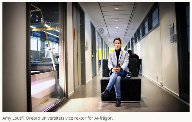 """Örebro universitet och Region Örebro län satsar 2,5 miljoner kronor på att starta AI impact lab. """"Ett kliv mot att göra Örebro till ett AI-nav av hög kvalité"""", säger Amy Loutfi, vice rektor för AI-frågor. https://www.oru.se/nyheter/universitetet-och-regionen-storsatsar-pa-ai--vill-ta-ledande-roll/…"""