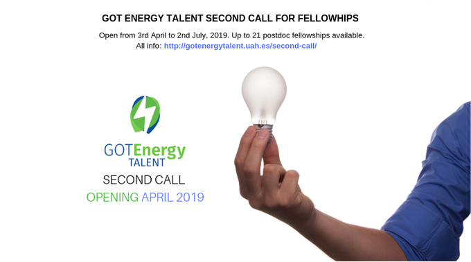 #AtosResearchAndInnovation is participating as partner in @energy_got second call for postdoc MS...
