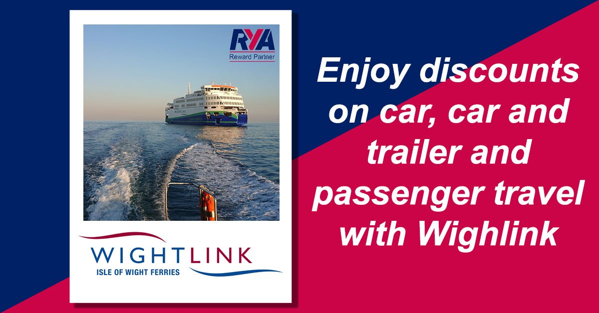Get away from it all with a visit to the Isle of Wight and as an @RYA member you'll enjoy great discounts on car, car and trailer and foot passenger travel with Wightlink.  Routes from Portsmouth and Lymington to Fishbourne and Yarmouth. Visit https://t.co/QG4UdALJGv #RYAJoin