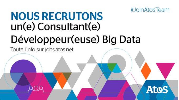 [#Job] Vous êtes passionné(e) par les technologies du #BigData et le secteur de l'#énergie...