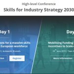 Image for the Tweet beginning: 📍#HappeningNow: #Skills for #industry #strategy