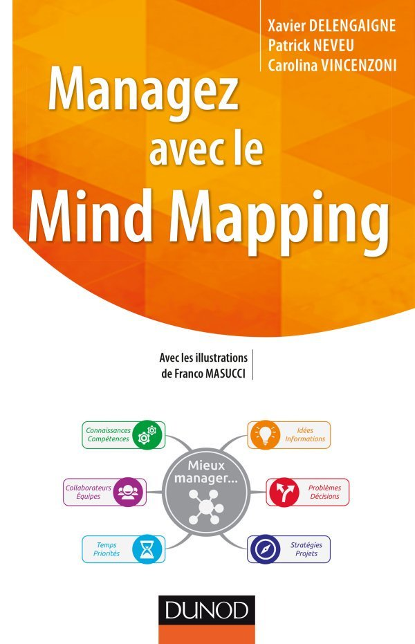RT @hanaka: Managez avec le #mindmapping ! Mon nouveau #livre http://amzn.to/1Ug3Se0
