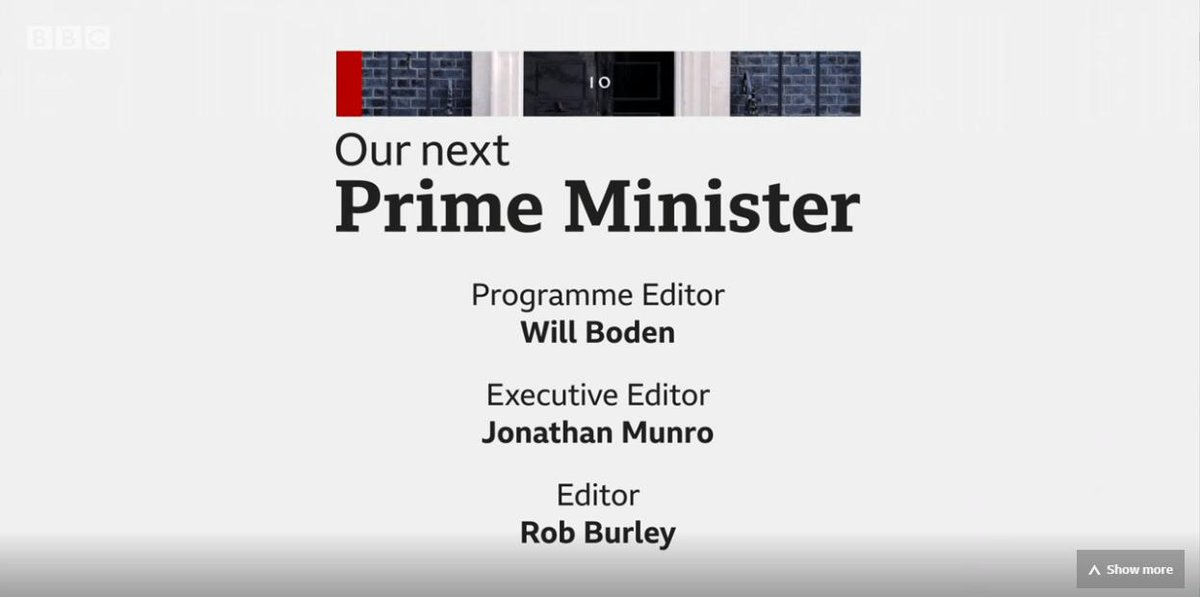 Clear from credits to last nights contest, the expertise on the @bbcquestiontime team - well versed in selecting questions from the public - wasnt used. Instead, it was run by executives on the news side. Costly strategic mistake given appalling @GuidoFawkes story.