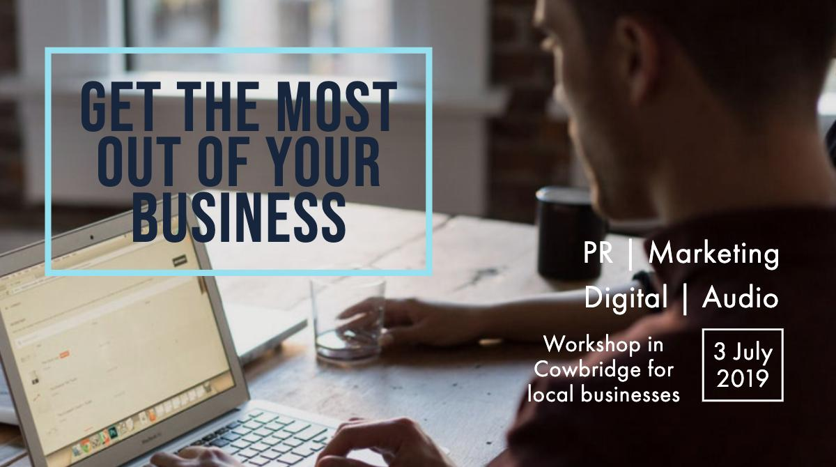 """@peppermintfishc  & @marketingws are proud to introduce """"Getting the most out of your Business"""" Seminars https://peppermintfish.com/get-the-most-workshop… … … … … … …  1 Day Seminar focusing on #PR #Marketing #Podcasting #Audio  3rd July - 2019 #cowbridge  #wales #cardiff #swansea #bridgend #Newport"""