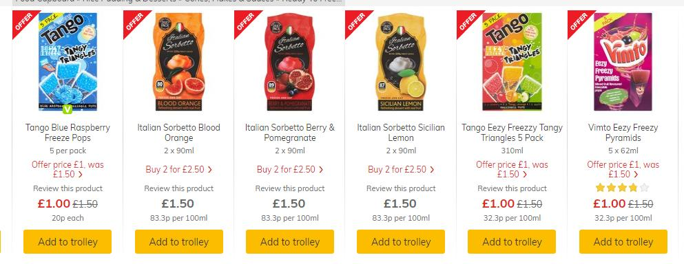 Not 1 offer, not 2 offers, but 5 OFFERS !!  Our delicious Eezy Freezzy freeze pops & sorbet's on promotion in @Morrisons, perfect for the gorgeous sunshine ☀️https://bit.ly/2Z8fN2L offer ends 13/8/2019🎉 @vimto @DrinkTango #squeezethefreeze #vimto #tango #sorbet #Deals #Offers