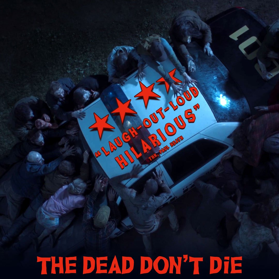 Critics can't get enough of Jim Jarmusch's hilarious zombie comedy #TheDeadDontDie - in cinemas July 12.