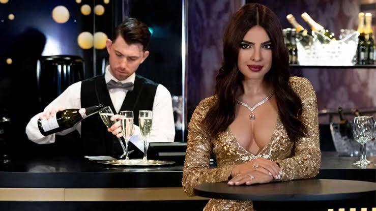 #PriyankaChopra 's 4th wax statue was unveiled at the #MadameTussauds wax museum.  Adorned in Golden sequinned #RalphLauren gown, the statue looks Uber stylish    It has been styled to match her appearance at the 2017 #GoldenGlobes Awards.   RT if you're awestruck  <br>http://pic.twitter.com/NDAEAa13KF