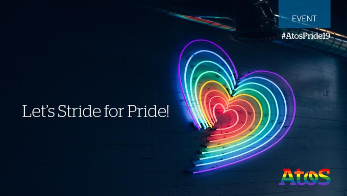 Today, as part of #Pride week, we are encouraging our colleagues to Stride for...