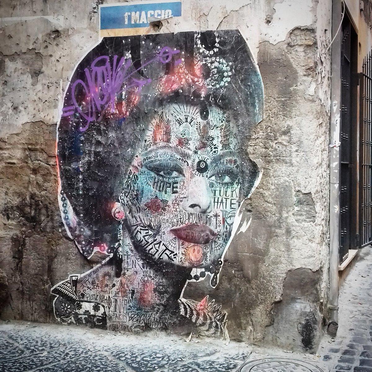 Sophia Loren .  #Napoli #streetart #sophialoren