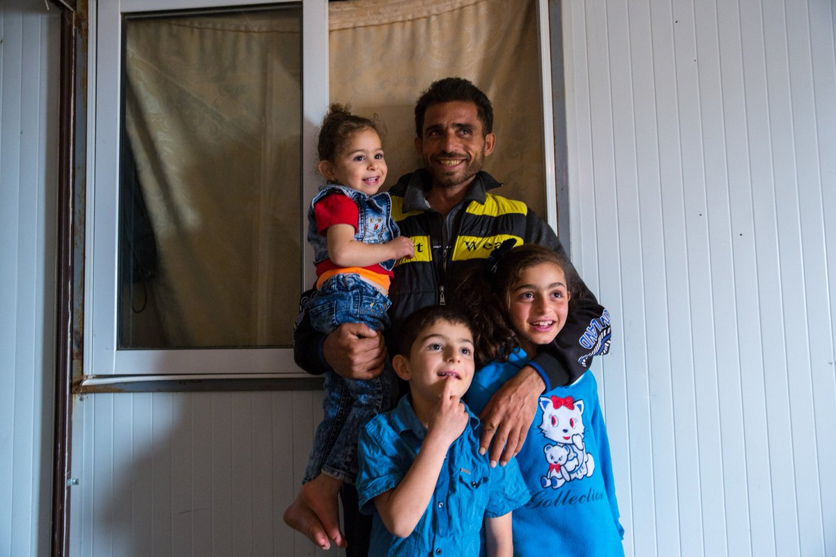 How would you cope if you had to leave your friends, family and home behind? 🏠  Tomorrow we'll be celebrating the resilience of #Refugees like the Kassab family. Meet them → http://bit.ly/Refugee_Family #WorldRefugeeDay  📸 @rosiethomp