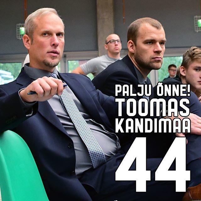 test Twitter Media - Täna tähistab oma 44. sünnipäeva meie abitreener, Tartu Ülikooli korvpalli õppejõud ja Tartu korvpalli legend Toomas Kandimaa. Palju õnne, Kant! https://t.co/k5zruv4UsA https://t.co/xbuy3JsZuq