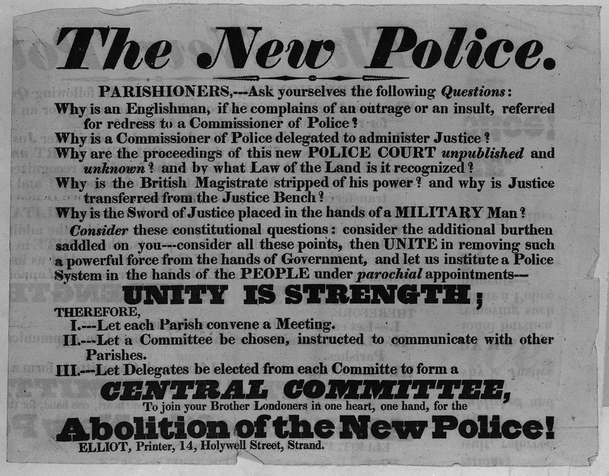 D9ahVl X4AA2x2f - The Met police: 190 years on....