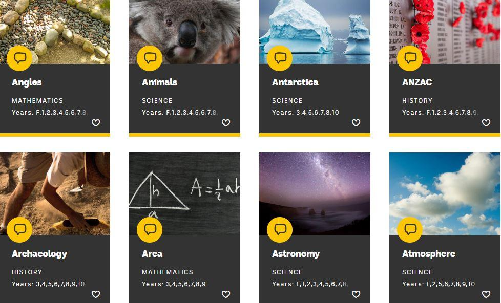 #Teachers, this wide range of topics covers lots of different #learning areas in the Australian Curriculum. Discover #classroom resources on everything from #algebra to #Antarctica! https://ab.co/2WMqUg9