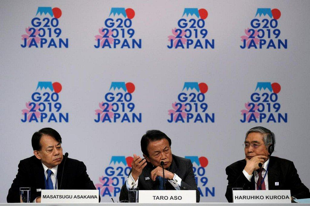 Japan says G20 summit to debate trade including WTO reform https://reut.rs/2N783gu