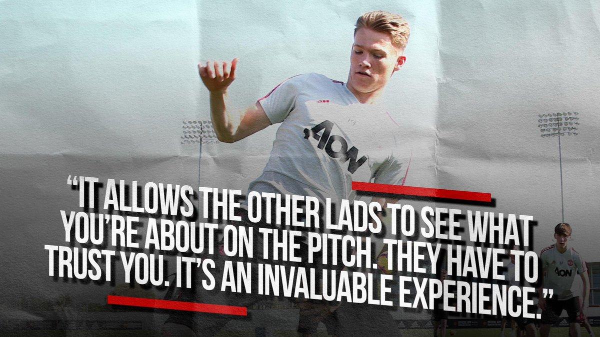 💬 Scott McTominay on the importance of #MUTOUR...  #MUFC #InsideUnited